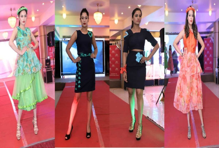 Annual fashion show organised in Academy of Professional Skills Hamirpur