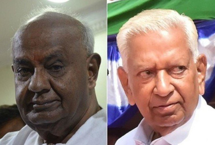 Time has been repeated after 22 years, then HD Deve Gowda, now Vajubhai has the Political key