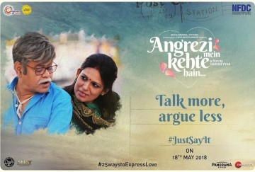 film review of angreji me kehte hain