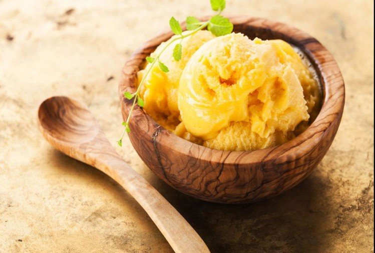 Recipe of mango coconut ice cream