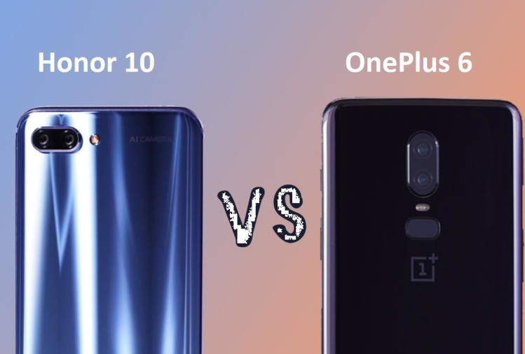 OnePlus 6 vs Honor 10