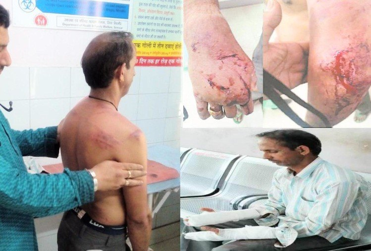 Husband beaten by wife in Sirmour Himachal Pradesh