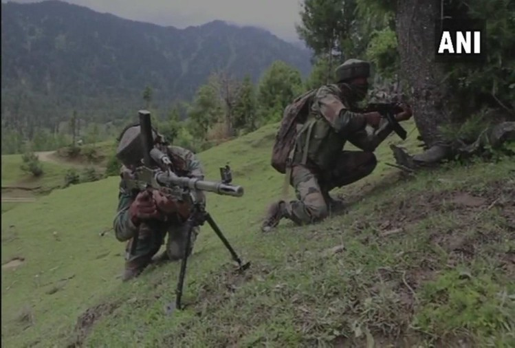 jammu and kashmir Tral encounter M4 carbine sent to forensic investigation