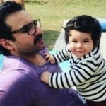 saif ali khan with taimur