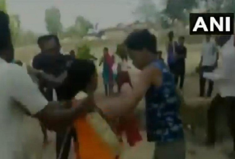 couple beaten up by unknown people in Jharkhand