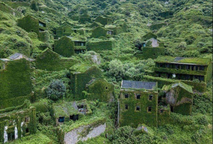 China's ghostia village