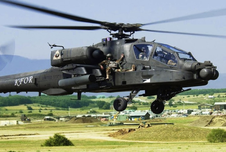 US government has approved deal to sell six AH-64 apache attack helicopters to India