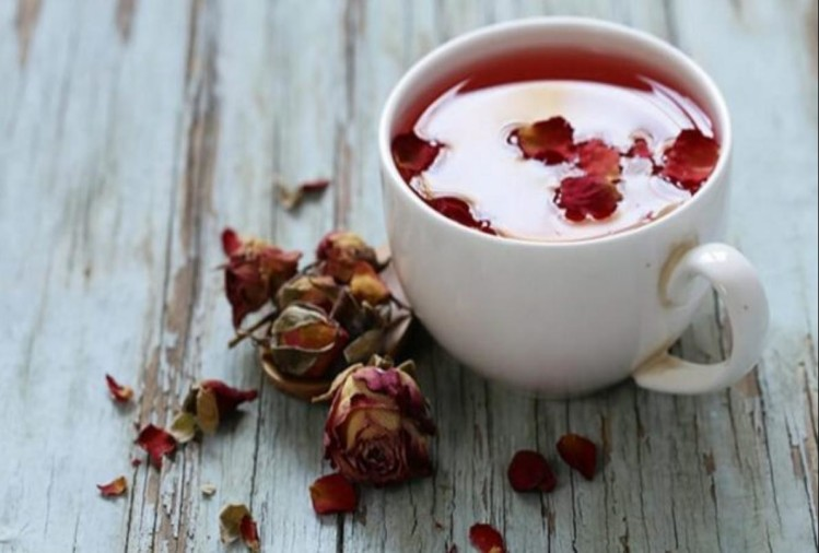 rose tea receipe health benefits in losing weight increasing immunity and easy ways to make it