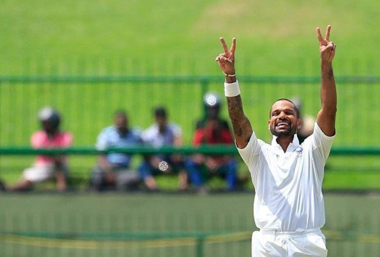 Shikhar Dhawan becomes the first player to score a century against Afghanistan