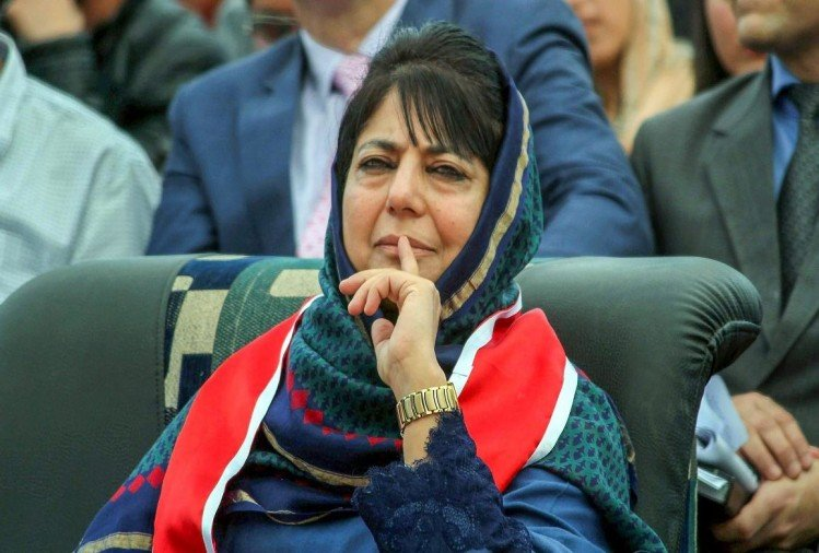 Mehbooba Mufti Fear from BJP plan, try to protect PDP