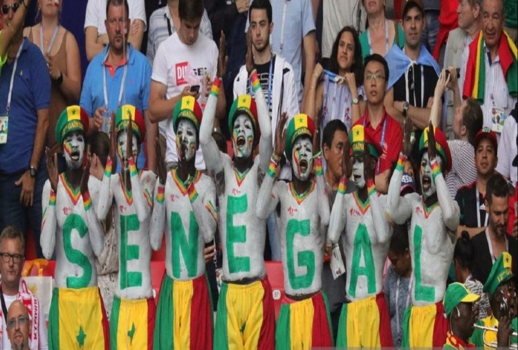 senegal team fans
