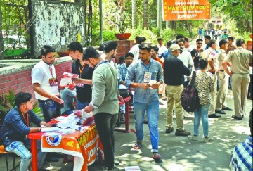 Delhi university- Student disturbed due to not opening login ID, no solution after reset password