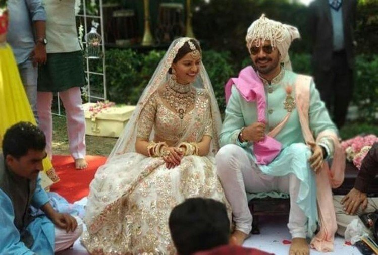 Rubina Dilaik Got Married With Abhinav Shukla See First Pictures Of