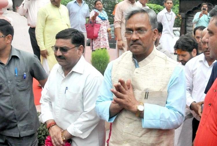 हरिद्वार में मुख्यमंत्री त्रिवेंद्र सिंह रावत