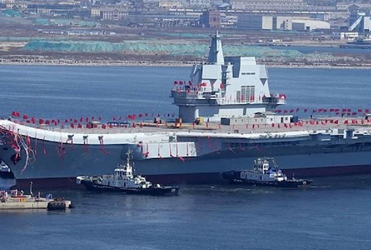 First home built aircraft carrier of China is ready to embark on second sea trial