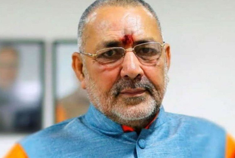 Union Minister Giriraj Singh visited Nevada jail to meet Bihar violence accused