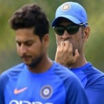 dhoni and kuldeep