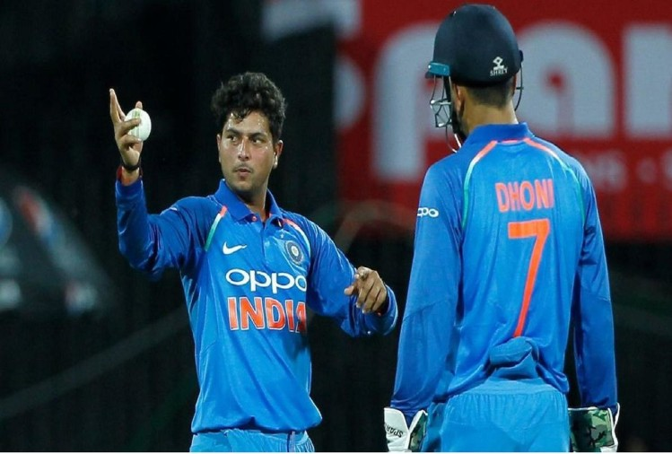 When Kuldeep Yadav scolded by MS Dhoni on the ground vs Sri Lanka in 2017