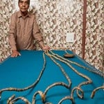 Guinness World Record of Chillal for cut nails after 66 years