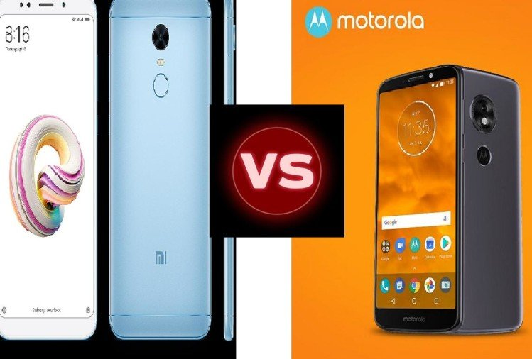 Moto E5 vs Xaiomi RedMi Note 5