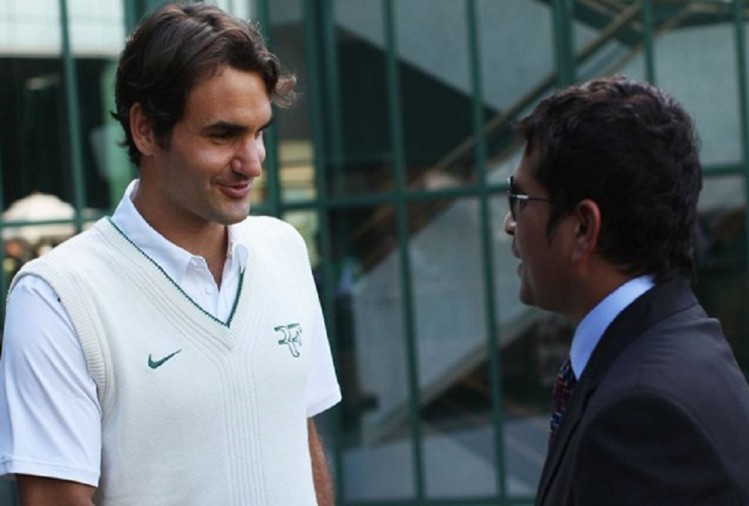 सचिन तेंदुलकर ने रोजर फेडरर को सिखाया क्रिकेट का गुण, सोशल मीडिया पर वायरल हुई दोनों की बातचीत