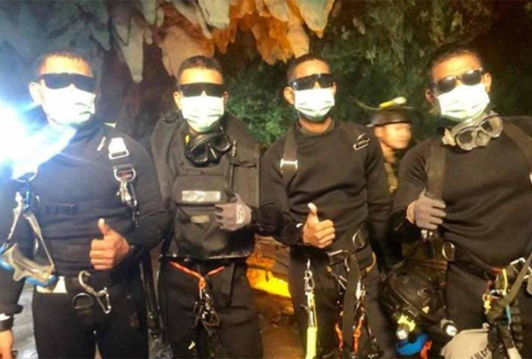 These are the heroes of Mission Impossible who rescued the children from Thailand cave
