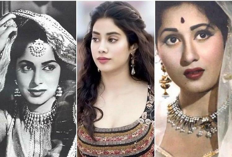Janhvi Kapoor Wish To Recreate Madhubala Waheeda Rahman role on screen