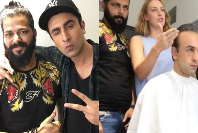 makeup behind ranbir kapoor to sanjay dutt look change