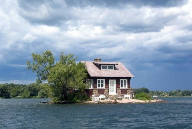 Know about the worlds smallest island 'just room enough'