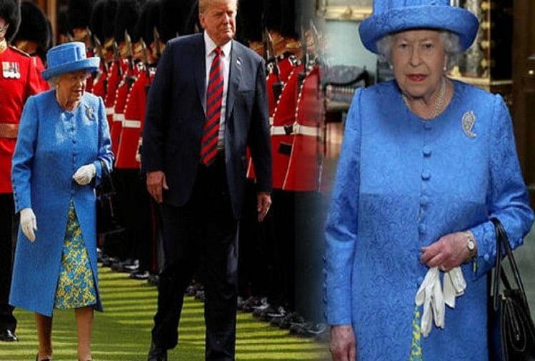 ट्रंप ने किया ब्रिटेन की महारानी का अपमान, दो बार तोड़ा प्रोटोकॉल