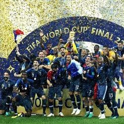 20 साल बाद फिर विश्व चैंपियन बना फ्रांस, फाइनल में क्रोएशिया को 4-2 से रौंदा