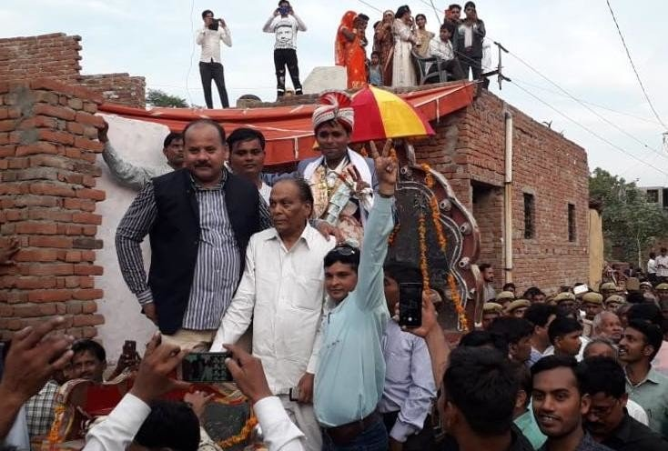 Image result for कासगंज में शादी