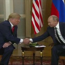 अमेरिकी चुनाव में दखल पर पुतिन का इनकार, ट्रंप ने भी दी क्लीनचिट