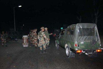 militants attack on bjp leaders house gulzar ahmed and court premises in pulwama jammu kashmir
