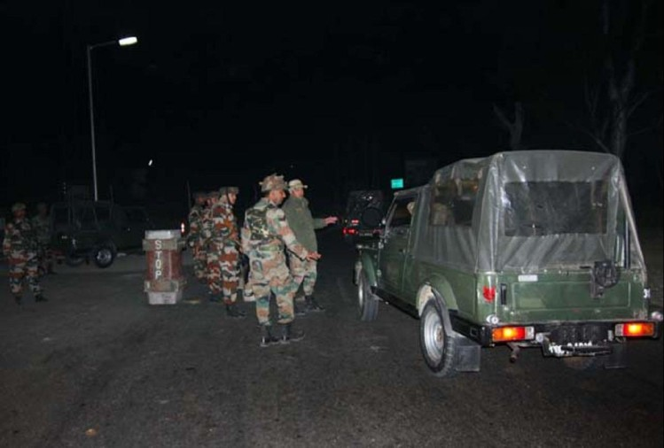 grenade attack on army patrolling party in handwara jammu kashmir