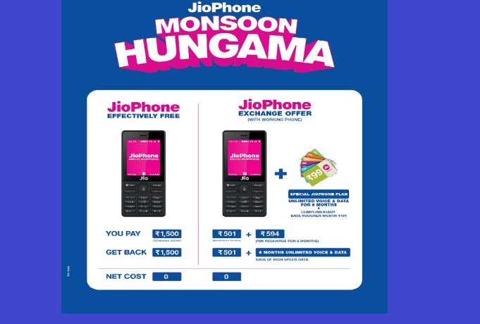 Big news, Rs 1095 will have to give Jio phone, Not Rs 501 these are all conditions