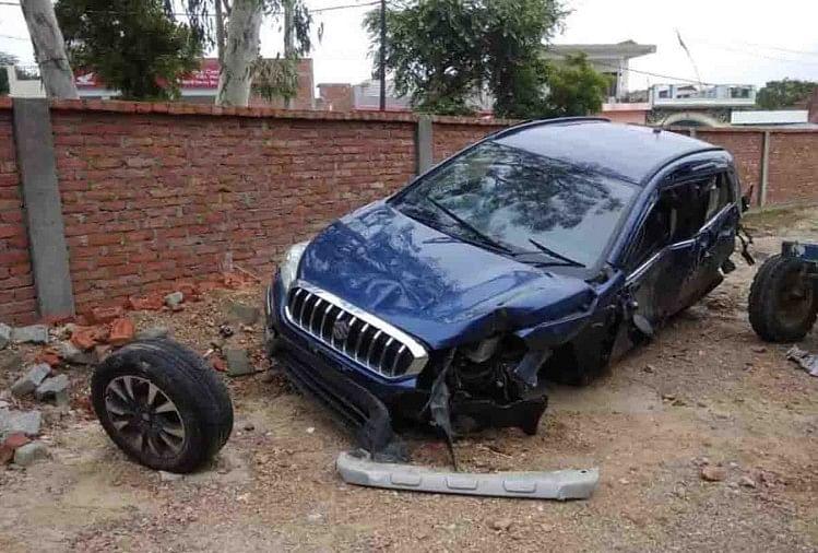 कन्नौज एक्सप्रेसवे रोड दुर्घटना