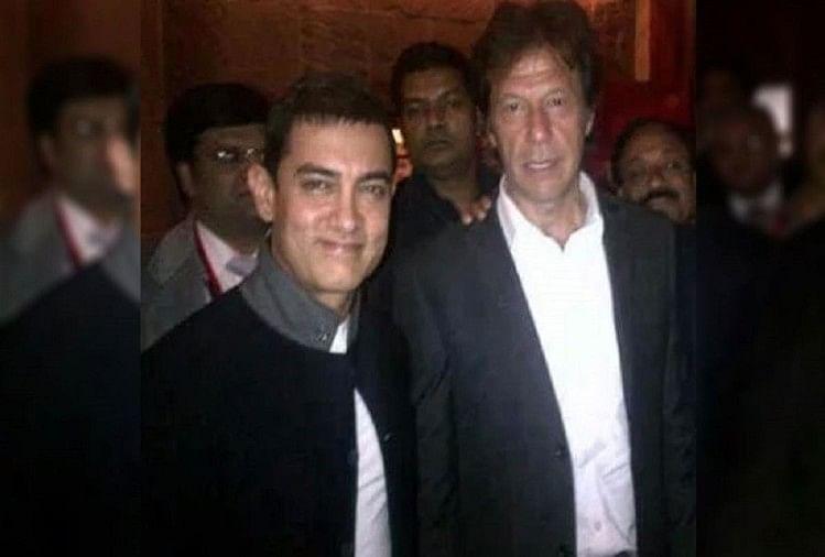 Imran khan invited aamir khan sunil gavaskar kapil dev for PM swearing in ceremony