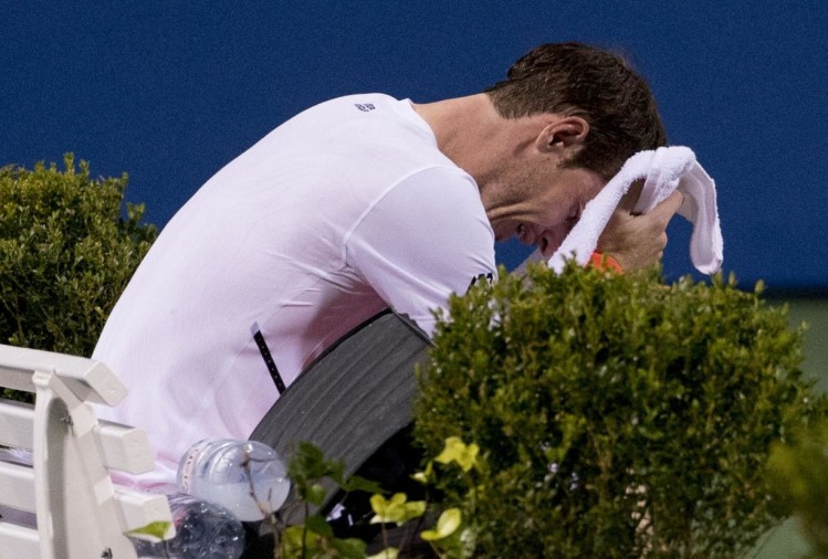 Andy Murray started crying after win against Marius Copil