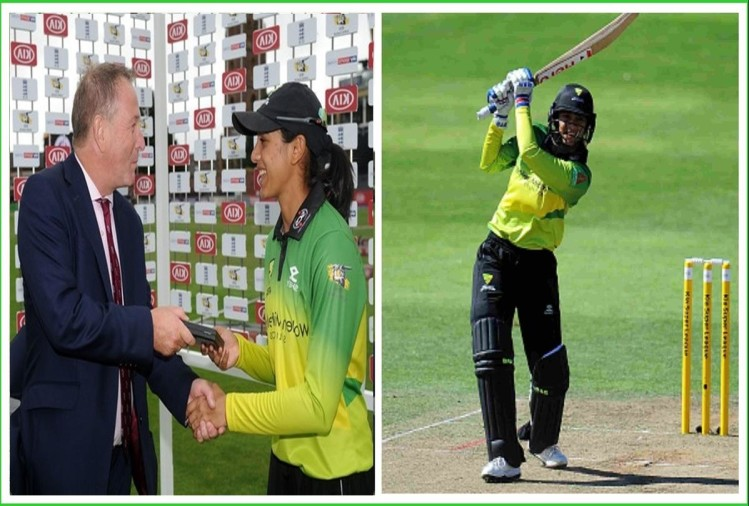 Kia Super League: Smriti Mandhana hits century and become second century holder after Mithali raj