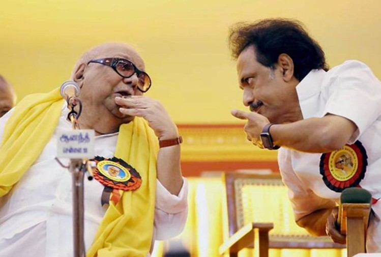 Finally Karunanidhi son MK Stalin became the undisputed chief of DMK