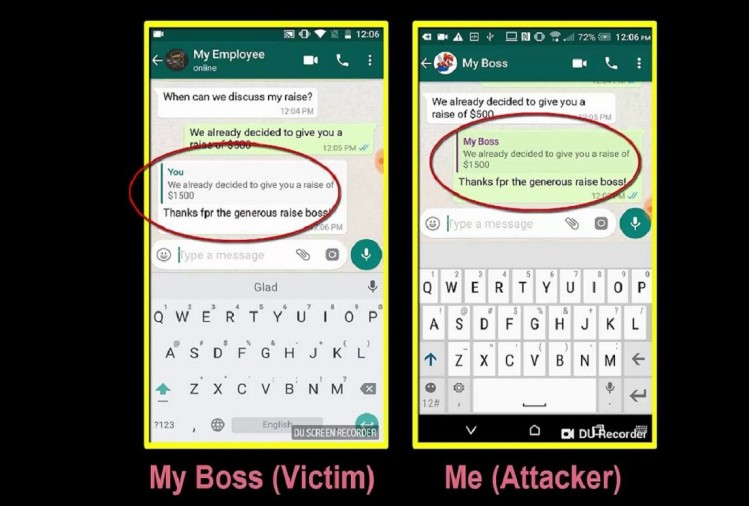 Vulnerability in WhatsApp