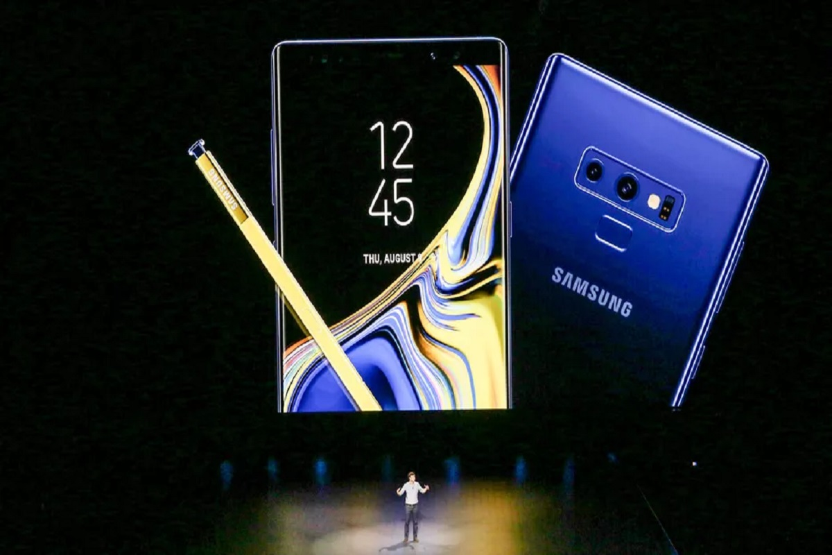 Image result for Samsung Galaxy Note 9 फटा
