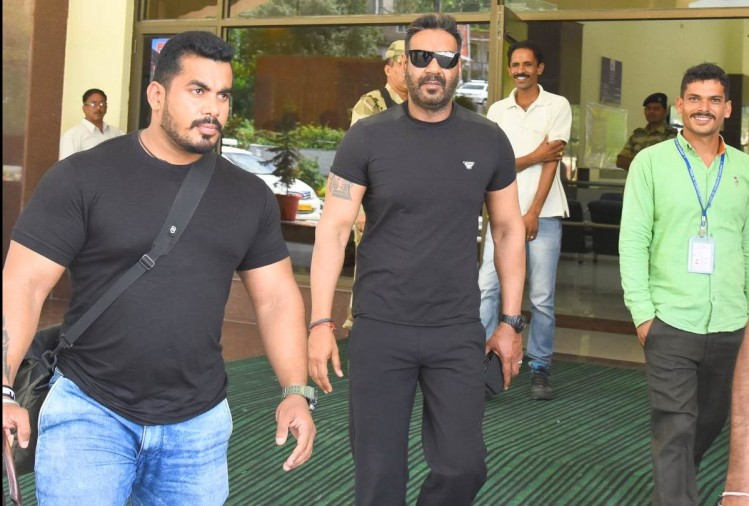 Actors Ajay Devgn Tabu and Jimmy Shergill in Manali for Movie Shooting