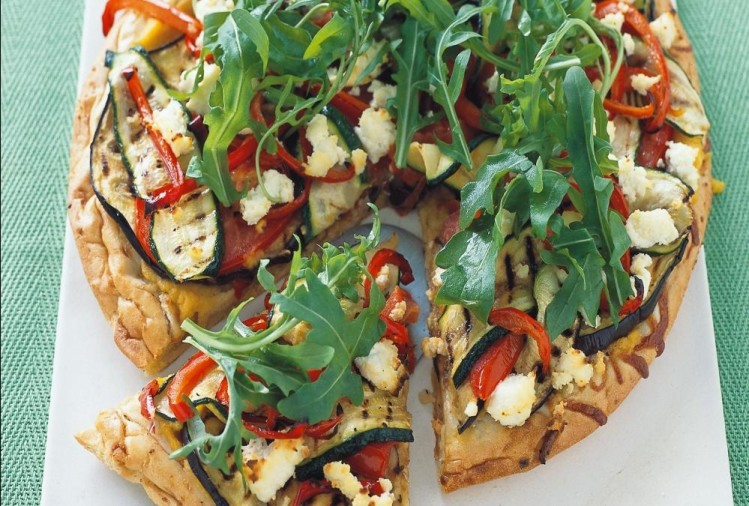 Recipe of vegetable pizza