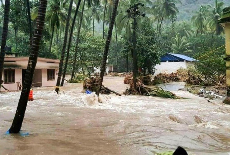 Kerala flood: 29 die, 54 thousand homeless, high alert in 11 districts