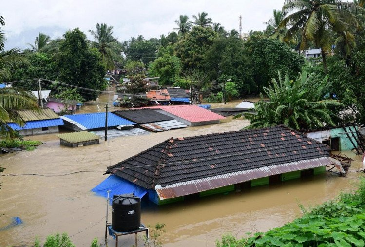 Kerala: state have loss of Rs 8,316 crore due to heavy rain and 38 people died