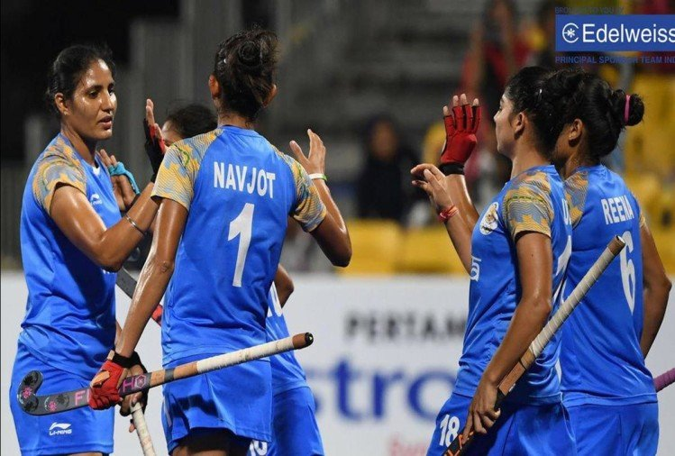 LIVE updates of India vs Korea in asian games 2018 womens hockey