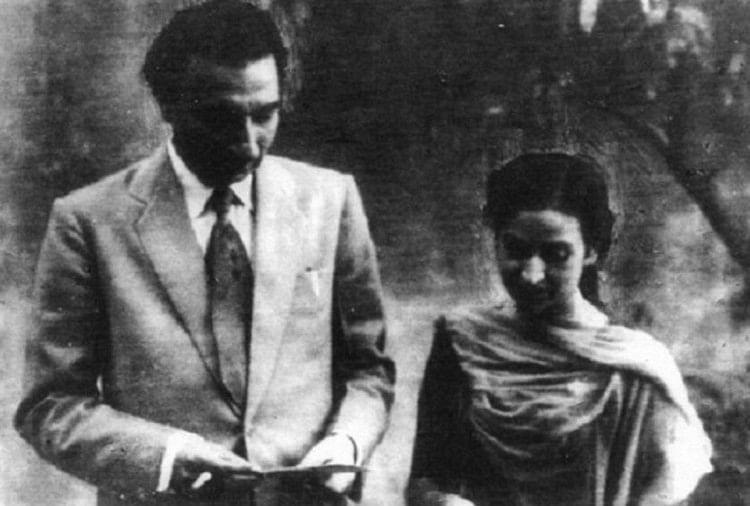 Image result for Sahir Ludhianvi and Amrita Pritam
