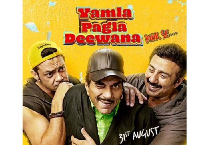 film review of yamla pagla deewana phir se